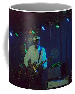 Coffee Mug featuring the photograph Chuck Berry And Charles Berry Jr. by Kelly Awad