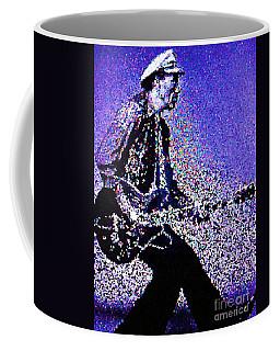 Chuck Berry Rocks Abstract Coffee Mug