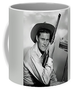 Chuck Connors - The Rifleman Coffee Mug by Mountain Dreams