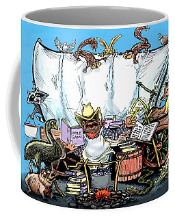 Chuckwagon Coffee Mug