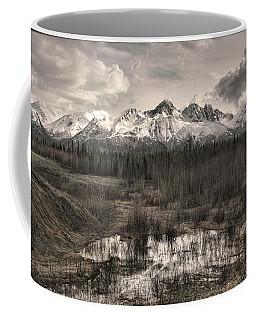 Chugach Mountain Range Coffee Mug