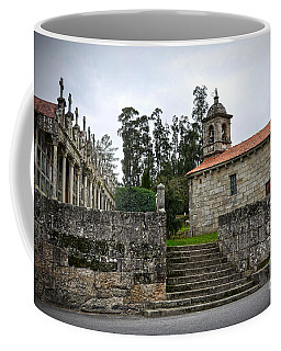 Church And Cemetery In A Small Village In Galicia Coffee Mug