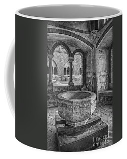 Church Christening Font Coffee Mug