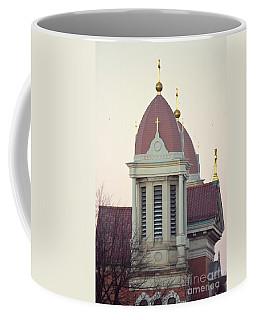Church Of Gold Crosses Coffee Mug