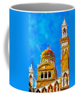 Coffee Mug featuring the painting Church Of Madonna Dell'orto by Greg Collins