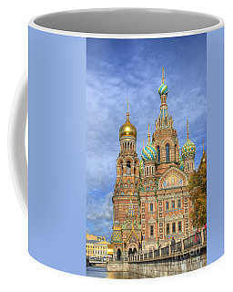 Church Of The Saviour On Spilled Blood. St. Petersburg. Russia Coffee Mug