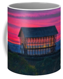 Church On The Hill Coffee Mug by Elizabeth Winter