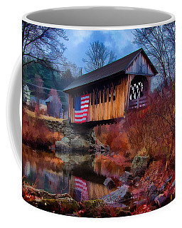 Cilleyville Covered Bridge Coffee Mug