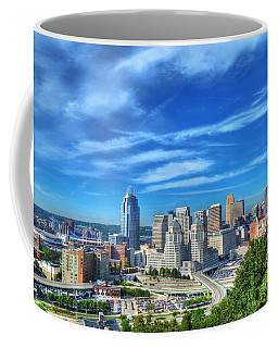 Cincinnati Skyline 2 Coffee Mug