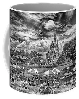 Coffee Mug featuring the photograph Cinderella's Palace by Howard Salmon