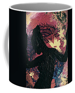 Coffee Mug featuring the painting Cinnamon by Jacqueline McReynolds
