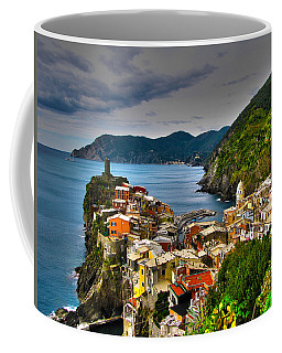 Cinque Terra Coffee Mug by David Gleeson
