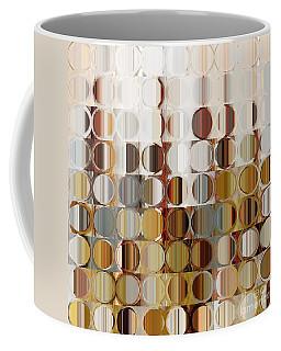 Circles And Squares 36. Modern Abstract Fine Art Coffee Mug