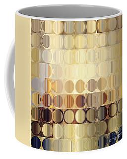 Circles And Squares 37. Modern Abstract Fine Art Coffee Mug