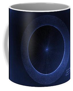Circles Don't Exist Pi 180 Coffee Mug