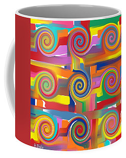 Circles Of Life Coffee Mug