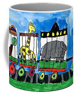 Circus Train Coffee Mug