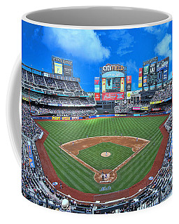 Citi Field - Home Of The N Y Mets Coffee Mug