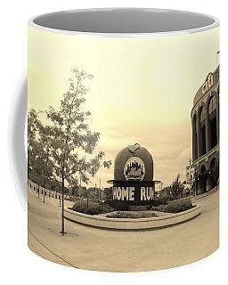 Citi Field In Sepia Coffee Mug