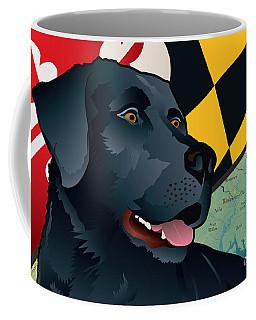 Maryland Black Lab Coffee Mug