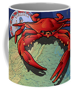 Citizen Crab Of Virginia Coffee Mug
