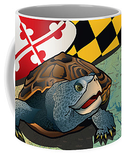 Citizen Terrapin Maryland's Turtle Coffee Mug