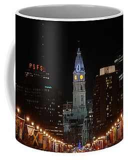 City Hall At Night Coffee Mug