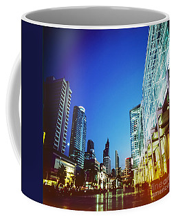 City In Twilight Coffee Mug