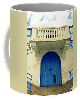 City Island Bath House Coffee Mug