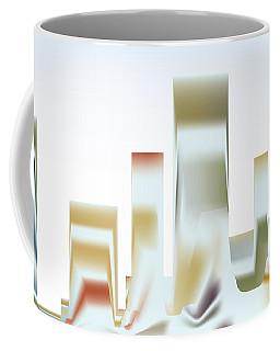 Coffee Mug featuring the digital art City Mesa by Kevin McLaughlin
