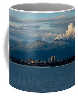 City Of Anchorage  Coffee Mug by Andrew Matwijec