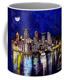 City Of Pittsburgh At The Point Coffee Mug