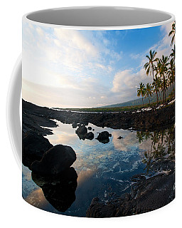 City Of Refuge Beach Coffee Mug by Mike Reid