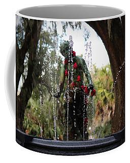 City Park Fountain Coffee Mug by Beth Vincent