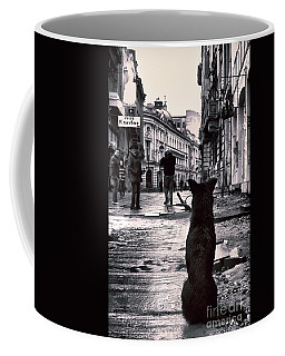 City Streets And The Theory Of Waiting Coffee Mug