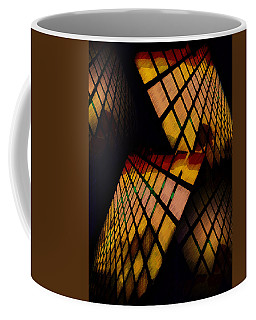 City View Abstract Coffee Mug