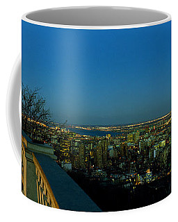 City Viewed From An Observation Point Coffee Mug
