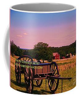 Civil War Caisson At Gettysburg Coffee Mug