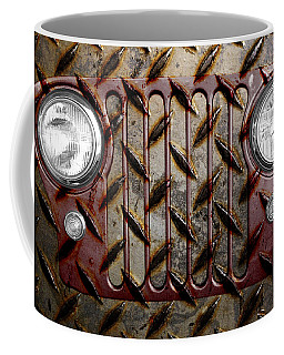 Civilian Jeep- Maroon Coffee Mug