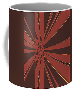 Coffee Mug featuring the digital art Civilities by Judi Suni Hall