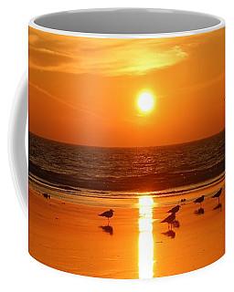 Clam Digging At Sunset - 2 Coffee Mug