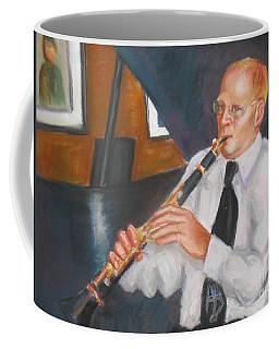Clarinet At Palm Court Coffee Mug