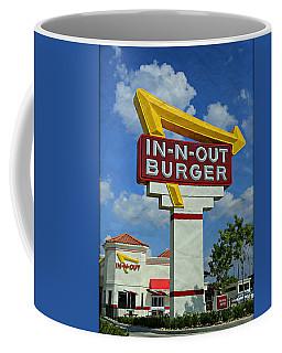 Classic Cali Burger 1.1 Coffee Mug by Stephen Stookey