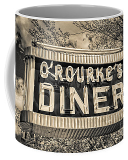 Classic Diner Neon Sign Middletown Connecticut Coffee Mug