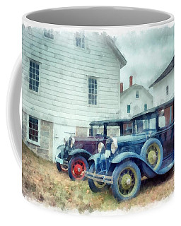 Classic Ford Model A Cars Coffee Mug