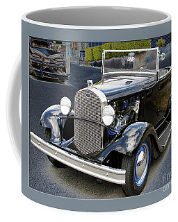 Coffee Mug featuring the photograph Classic Ford by Victoria Harrington