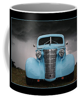 Coffee Mug featuring the photograph Classic In Blue by Keith Hawley