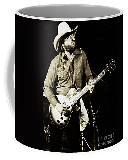 Classic Toy Caldwell Of The Marshall Tucker Band At The Cow Palace-new Years Concert  Coffee Mug