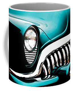 Coffee Mug featuring the photograph Classic Turquoise Buick by Joann Copeland-Paul
