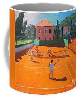 Clay Court Tennis Coffee Mug
